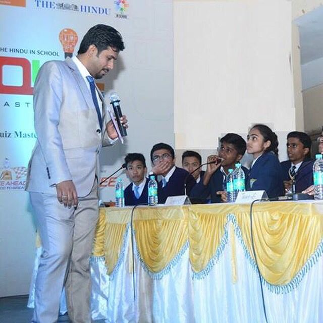 Greycells was the chosen partner to conduct the multi city School Quiz for one of the most respected media outlet The Hindu.   #schoolquiz #quizmasters #quizmastersinindia #quiz #greycellsquiz