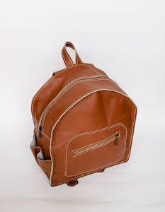 Shoulder Brown Backpack Womens Leather Backpack Mens Leather