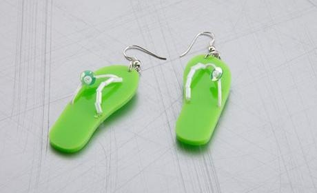 earrings flipflop