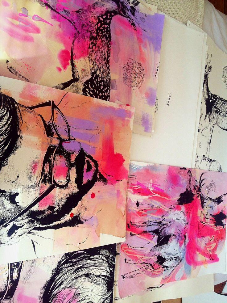 Jasmin Dwyer | Screen prints