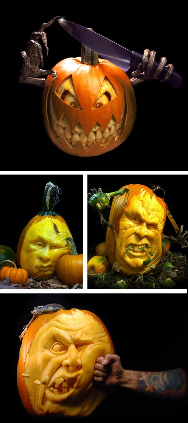 Best Amazing Pumpkin Carving Ideas On Pinterest Fun Pumpkin - Mind blowing pumpkin carvings by ray villafane 2