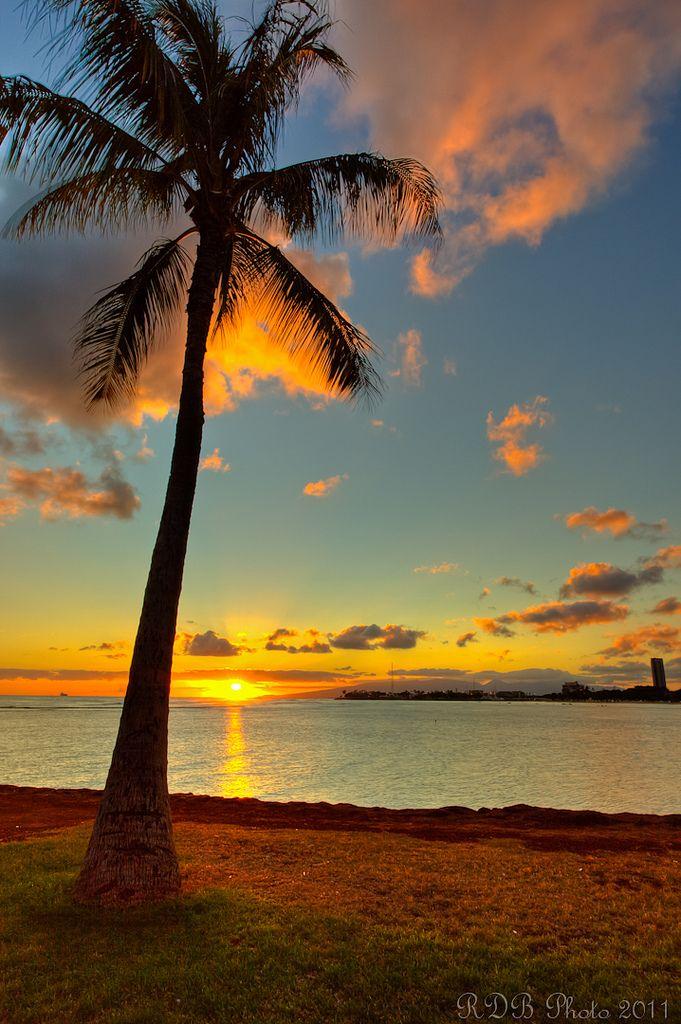 Good Morning Pinners! TGIF! Ala Moana Beach, Hawaii