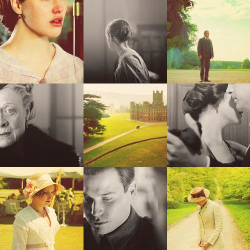 Downton Abbey is my new favorite show! So beautifully well done.