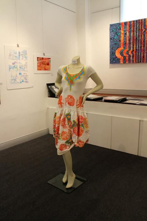 2014 -- Arianna Saropoulos -- yr. 12 -- printing on textiles