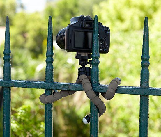 Flexibilní stativ na fotoaparát