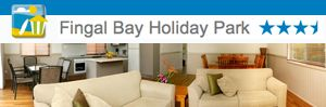 Fingal Bay Holiday Park, Port Stephens.  One of the award winning Port Stephens Beachside Holiday Parks