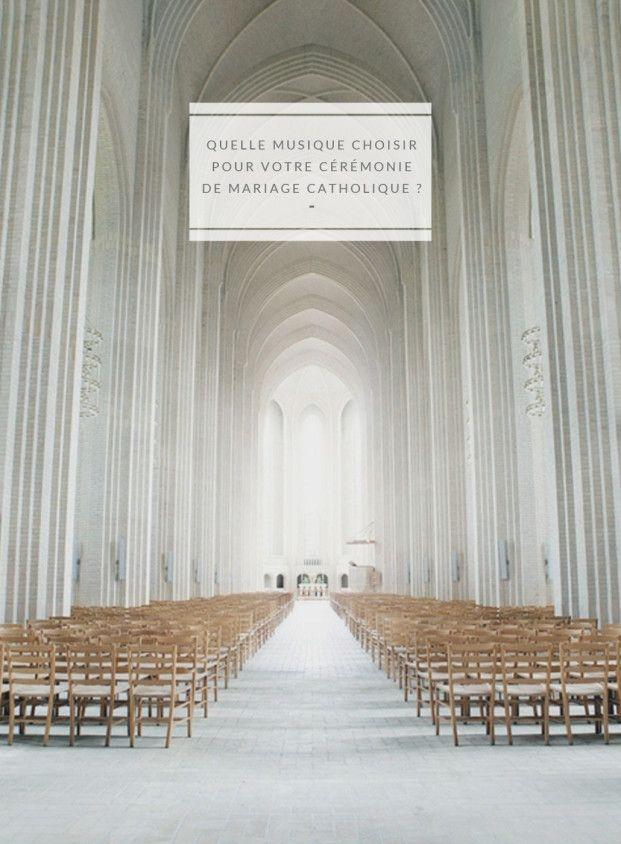 Quelques conseils pour choisir la musique idéale lors de la cérémonie d'un mariage catholique sur le blog mariage www.lamaireeauxpiedsnus.com