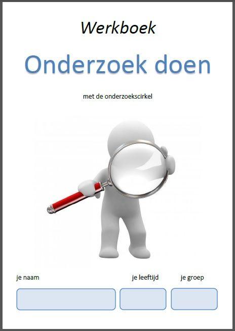 Werkboek Onderzoek doen met de onderzoekscirkel, meer info en bestellen op http://www.unique-talentbegeleiding.com/ontwikkelde-tools.html