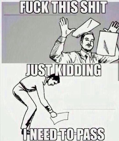grad school in a nutshell, pretty much how I felt about my summer classes this summer.