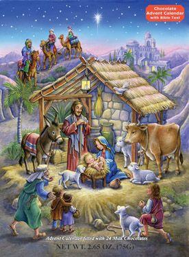 Peaceful Prince Chocolate Advent Calendar | Chocolate Advent Calendars | Vermont Christmas Co. VT Holiday Gift Shop