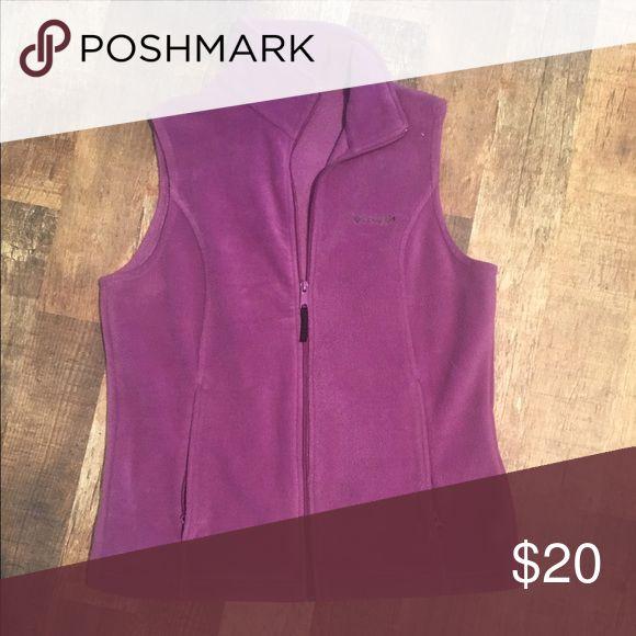Columbia Purple Vest. Columbia Purple Vest Size M. Columbia Jackets & Coats Vests