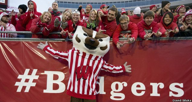 Badgers Football....BUCKY!!!!!