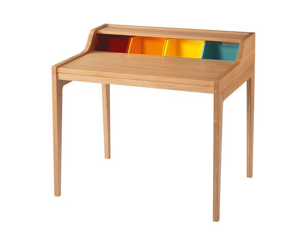 "This might help Aurora with organization.  Color coding where things go Repinned = ""like the colors on this desk"""