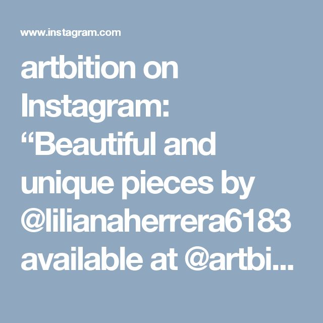 "artbition on Instagram: ""Beautiful and unique pieces by @lilianaherrera6183 available at @artbition #miami #jewe… 