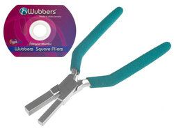 WUBBERS Medium SQUARE MANDREL Pliers  Make Square Jump by Forgeron, $29.95