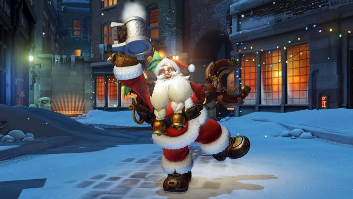 Best 25 overwatch christmas skins ideas on pinterest - Overwatch christmas wallpaper ...