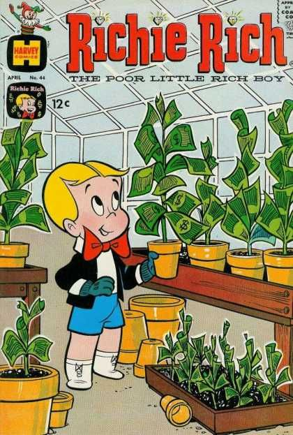 Richie Rich was my absolute favorite comic book.  I would have loved playing monopoly with him.