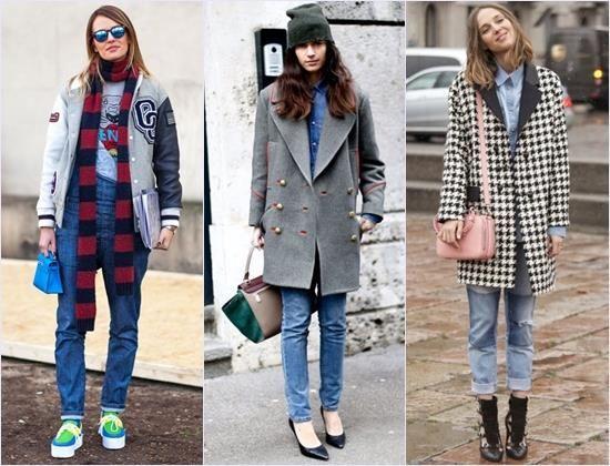 Мокасины женские и джинсы