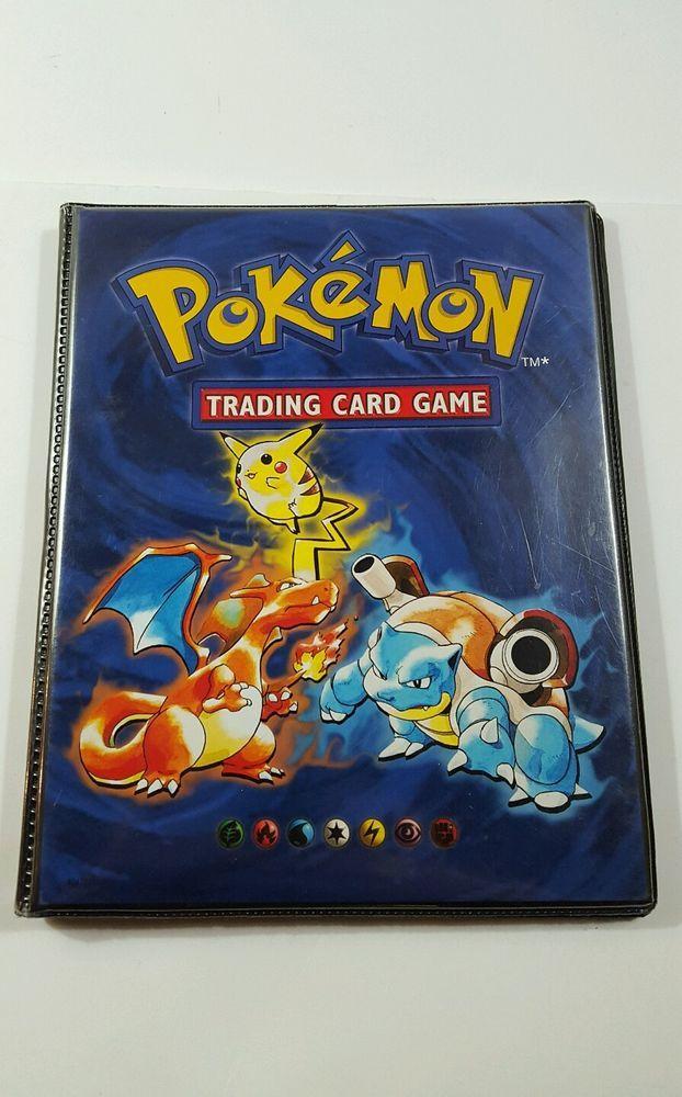 RARE Pokemon BLUE Binder/Folder/Album/Booklet Holds 112 Card