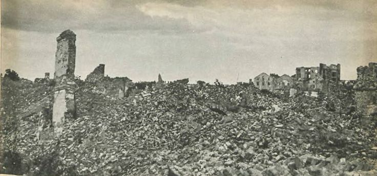 Muranów, one of central districts of Warsaw, was part a former Jewish ghetto. Completely destroyed by Nazi forces.