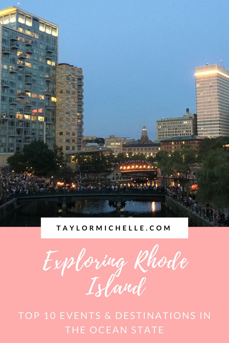 Rhode Island, aka the Ocean State, is filled with beautiful lighthouses and beaches, incredible food, and unique events. Plan your trip with the help of TayorMichelle.com!