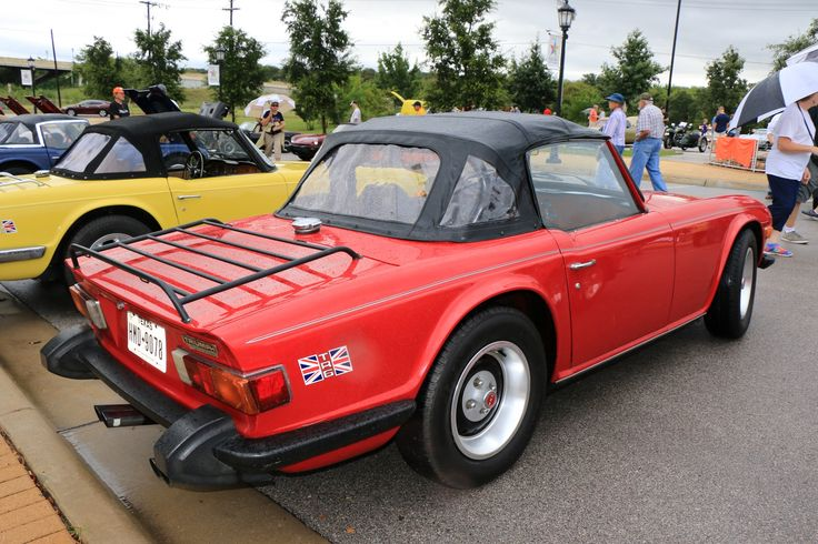 1974 Triumph TR6, as shown at the 2016 Texas All British Car Days event in Round Rock, TX, USA.