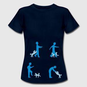Dog Dancing 2-1 T-shirts - Vrouwen T-shirt