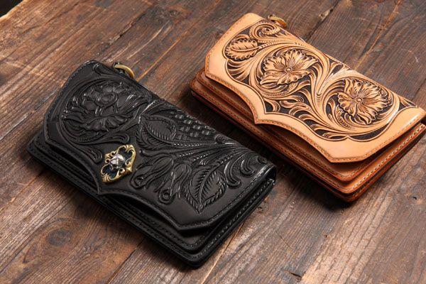 革・材料 I☆N FACTORY × Handmade custom Leathers Awake ブログ   レザーカービング