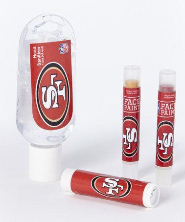 Love this San Francisco 49ers Game Day Spirit Set on #zulily! #zulilyfinds