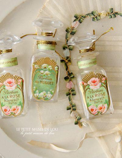 アンヴァンテール*シック&ロマンティックなフランスアンティークコレクション。香水瓶 Perfume bottle