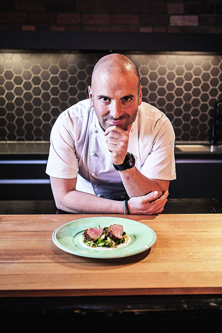 Chef and restaurateur George Calombaris.