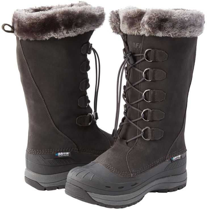 Women's Baffin Judy Boots from Duluth Trading Company have a 7-layer liner that keeps feet warm to -40 degrees F.