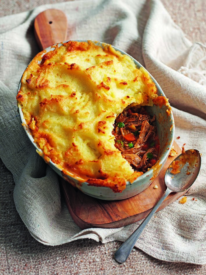 Slow-roast lamb is a delight, and the leftovers can be even better if you make Donal Skehan's hand-me-down shepherd's pie dish.