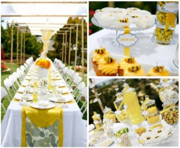 Girl Baby Shower Themes Yellow ~ 156 best mama to bee baby shower images on pinterest dessert