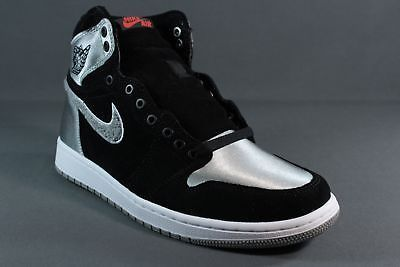 watch e6fd1 7172d ... AIR JORDAN 1 RETRO HIGH ALEALI MAY SHADOW GREY OG SATIN AJ5991-062 NEW  SZ ...