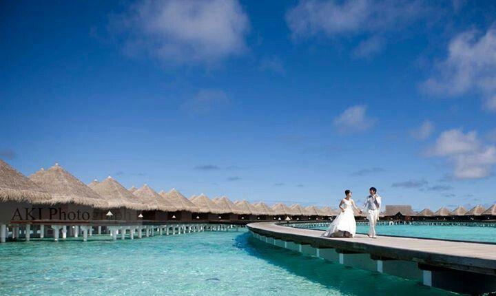 Wedding at Maldives   AKIphotograph