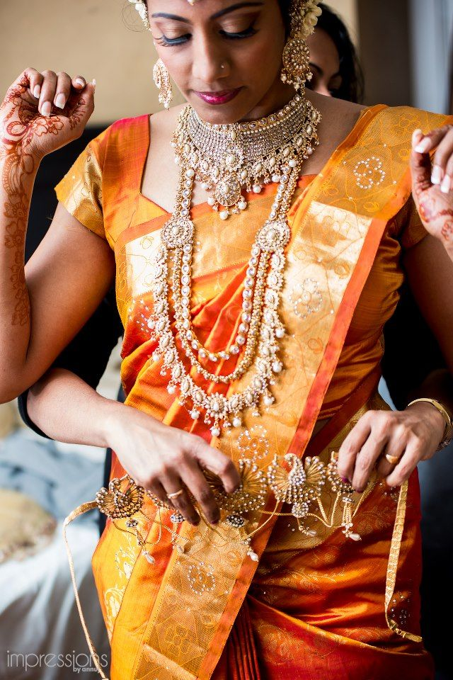 Indian bridal jewellery. necklace, kamarbandh and earrings