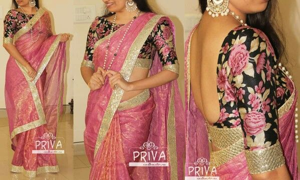 Orchid coloured shimmer tissue kota saree with sequins border - priya collective 4950/-