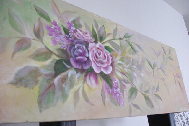 hand painted cornice