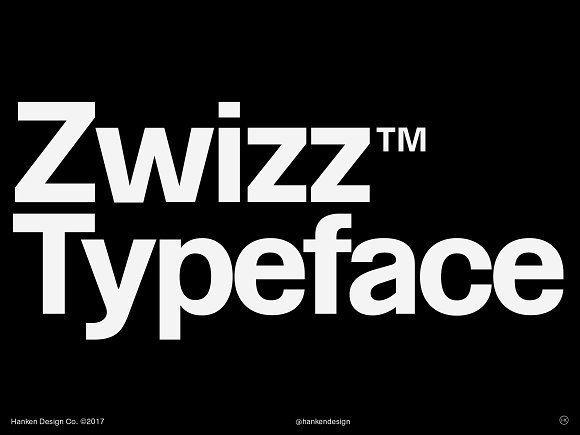 Zwizz™ Typeface by Hanken Design Co. on @creativemarket