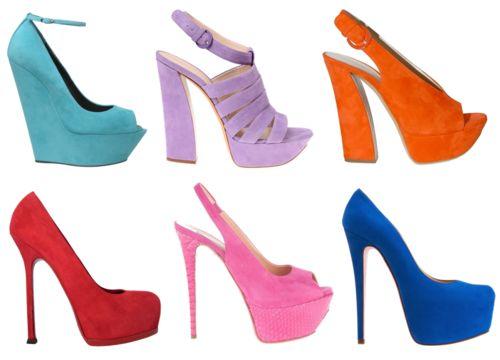 Shoes for colourblockingColors Block, Colourblock, Shoes Porn