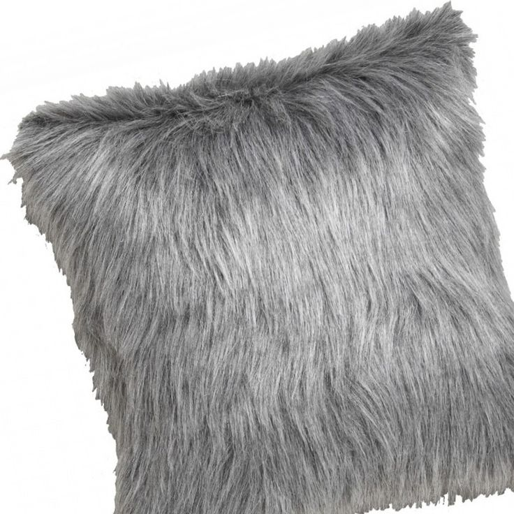 After a cosy, Wintry living room? Get the look with our Snowden 43cm Square Faux Fur Cushion. Avail in Silver & black. Only $49.95 each!