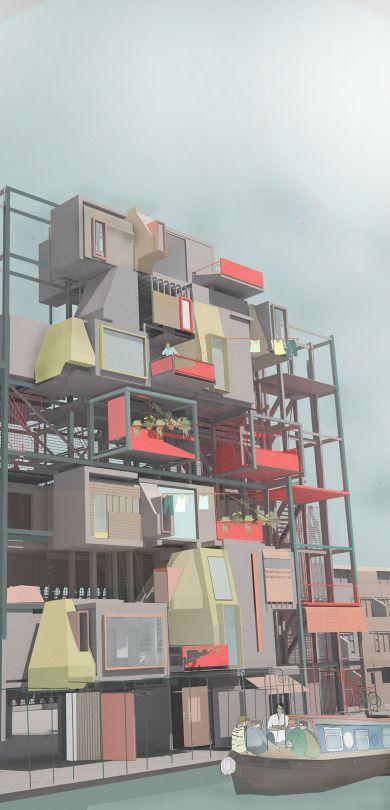 BARTLETT UG 1 the LIVING LABORATORY, Alice Hardy, Year 3, Bartlett School of Architecture UG1 2014/2015 Tutors: Sabine Storp + Patrick Weber