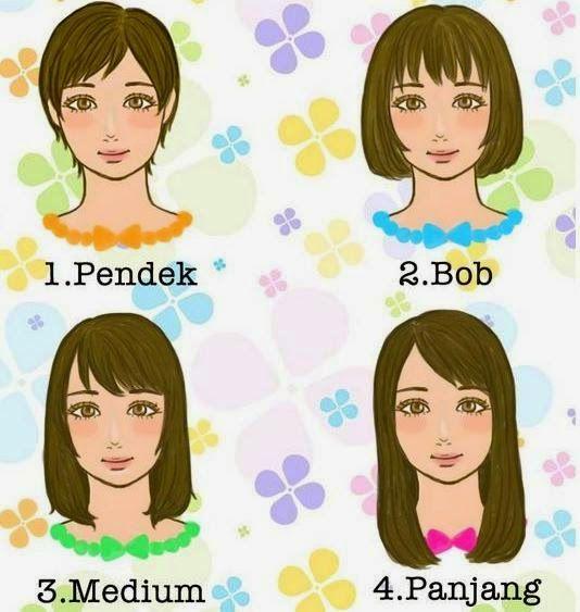 Arti 4 Bentuk Rambut Yang Menggambarkan Sifat dan Cara Membacanya (Untuk Cewek)