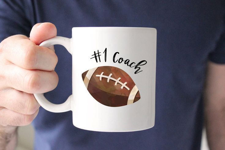Football Coach Mug, Number 1 Coach, Best Coach, Football Mug, Gift for Coach, Coach Gift, From Team, Thank you, Coffee Mug, Cup, Present by SweetMintHandmade on Etsy https://www.etsy.com/listing/564459750/football-coach-mug-number-1-coach-best