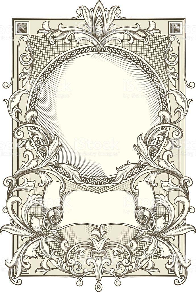 retro decorative design element, vector artwork