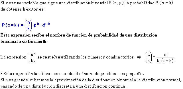 Fórmula binomial