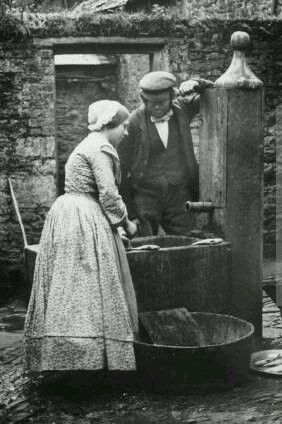 domestic servants 1850s