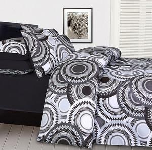 AU $35.99 MOROCCO Black Grey White - KING Soft Feel Quilt Doona Cover Set NEW
