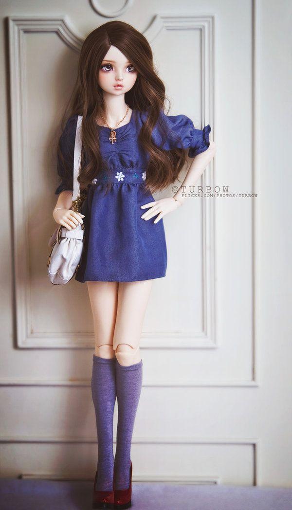 denim dress by soturbow.deviantart.com on @deviantART